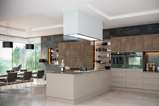 Contemporary Plain Slab Kitchen Doors